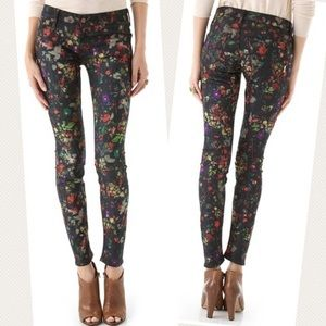 Mother 'The Looker' Magical Forest Ankle Jeans